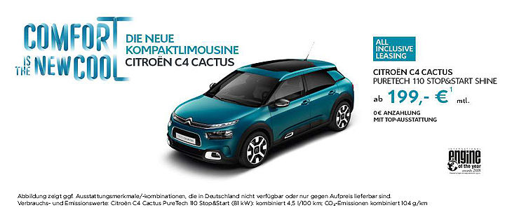 Citroen C4 Slide Angebot